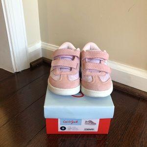 Cat & Jack pink tennis shoes NIB